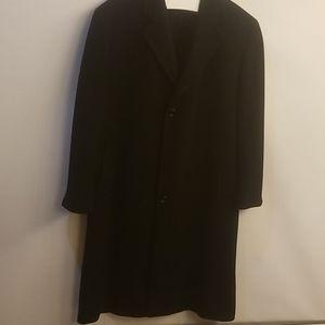 Chaps Ralph Lauren long cashmere pea coat overcoat